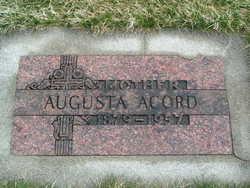 Augusta <i>Ricketts</i> Acord
