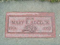 Mary E <i>Flora</i> Adcock