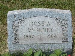 Alice Rose Ann Rose <i>Adams</i> McKenry