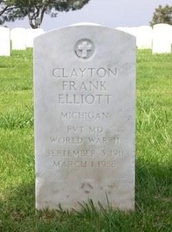 Pvt Clayton Frank Elliott
