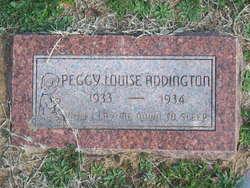 Peggy Louise Addington