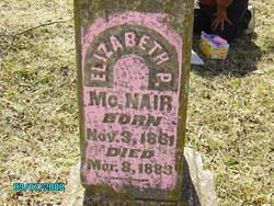 Elizabeth <i>Parrott</i> McNair