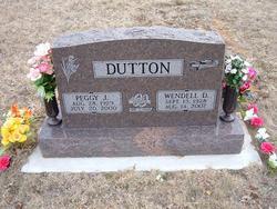 Peggy Jean <i>Gibson</i> Dutton