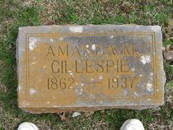 Amanda Martha Mandy <i>Helderman Linkhart</i> Gillespie