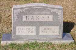 Alice Lena <i>Hearn</i> Baker