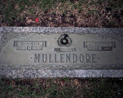 Mary Ethel <i>Spangler</i> Mullendore
