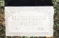 Beatrice <i>Huyck</i> Wilcox
