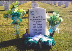Sgt James Dennis McNaughton