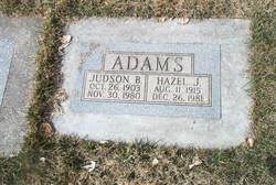 Hazel Josephine <i>Foltz</i> Adams