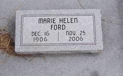 Marie Helen <i>Kimzey</i> Ford