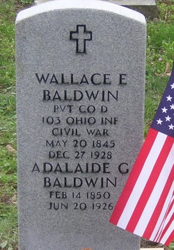 Adelaide Gertrude <i>Brownson</i> Baldwin