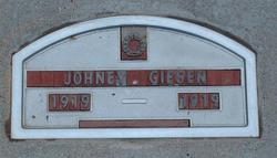 John (Johney) Giesen