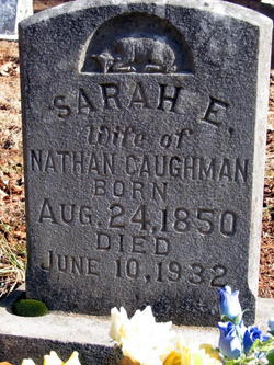 Sarah Elizabeth <i>Center</i> Caughman