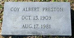 Coy Albert Preston