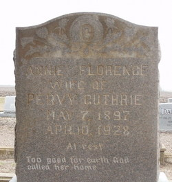 Anne Florence <i>Moore</i> Guthrie
