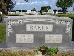 Mary Olivia <i>Vann</i> Baker