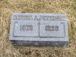Bertha A. Peterson
