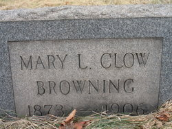 Mary L <i>Clow</i> Browning