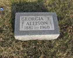 Georgia E. <i>Lindley</i> Allison