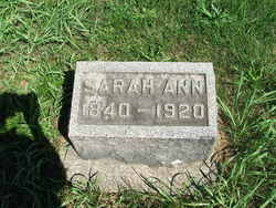Sarah Ann Rathbun