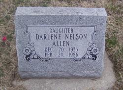 Darlene <i>Nelson</i> Allen