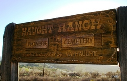 Haught Ranch Pioneer Cemetery