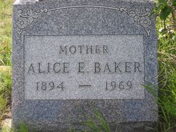 Alice Eleanor <i>Seiler</i> Baker