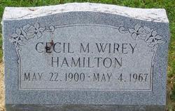 Cecil May <i>Wirey</i> Hamilton