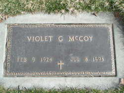 Violet Geneva <i>Slate</i> McCoy