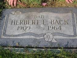 Herbert Ernest Back, Jr