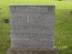 Maria Jane <i>Yager</i> Bagby