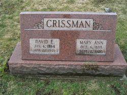 David Erwin Crissman
