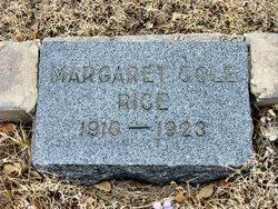 Margaret Cole Rice