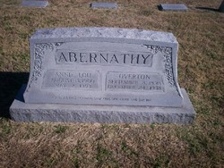 Annie Lou Jones <i>Hawkins</i> Abernathy
