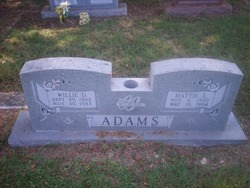 Willie D Adams