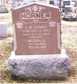 Medora A Dora <i>Bush</i> Horner