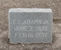 E. L. Adams, Jr