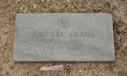 Edd Lee Adams