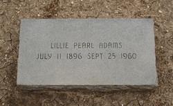 Lillie Pearl <i>Heath</i> Adams
