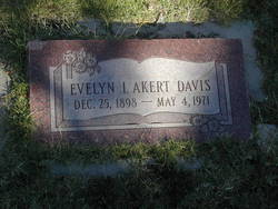 Evelyn Iza <i>Akert</i> Davis
