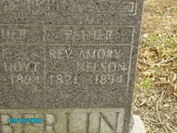 Rev Amory Nelson Chamberlin