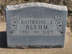 Katherine E. <i>Schneider</i> Blehm