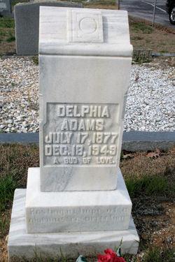 Delphia L. <i>Welch</i> Adams