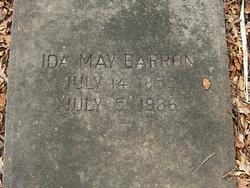 Ida May <i>Bradley</i> Barron