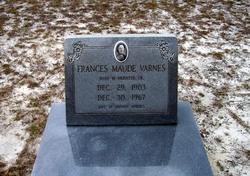 Maude Frances Varnes