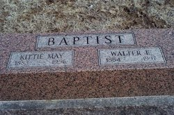 Kittie May <i>Neville</i> Baptist