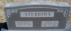Fredella Margaret Margaret <i>Hall</i> Stebbins