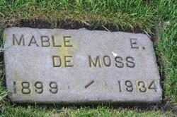 Mable E <i>Norton</i> De Moss