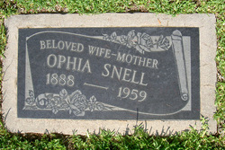 Ophia Willie Belle <i>Fergeson</i> Snell