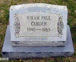 Hiram Page Camden